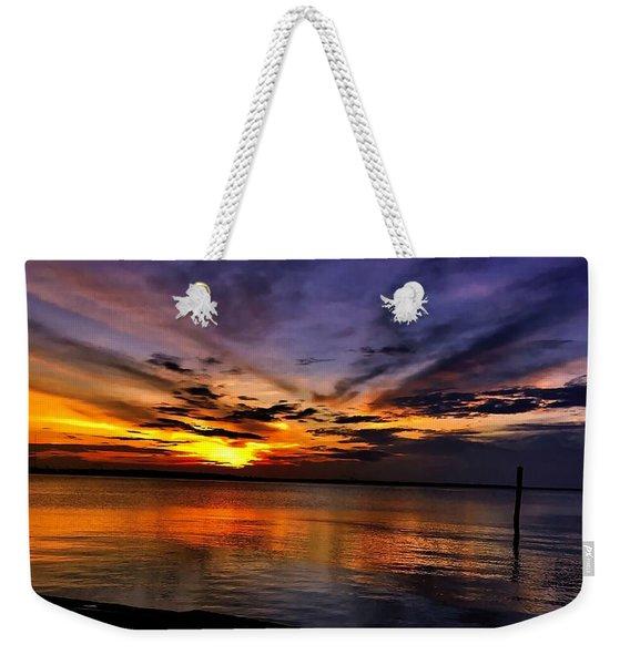 Charleston Gold Weekender Tote Bag