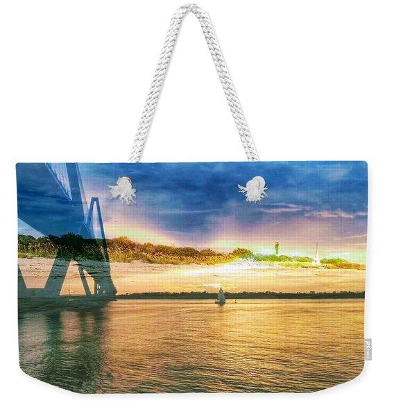 Charleston Harbor Sc Weekender Tote Bag