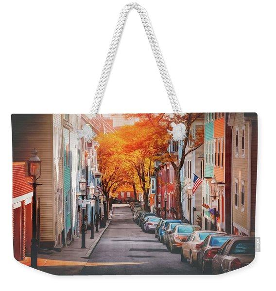 Charlestown Neighborhood Boston Massachusetts Weekender Tote Bag