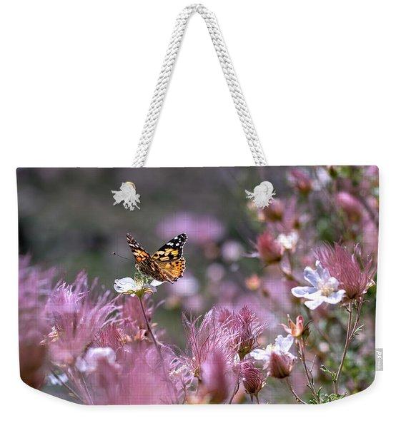 Chasing Butterflies Weekender Tote Bag