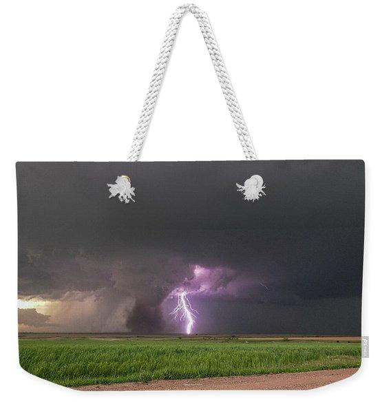 Chasing Naders In Nebraska 017 Weekender Tote Bag