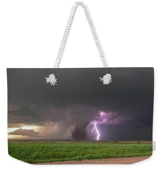 Weekender Tote Bag featuring the photograph Chasing Naders In Nebraska 017 by Dale Kaminski