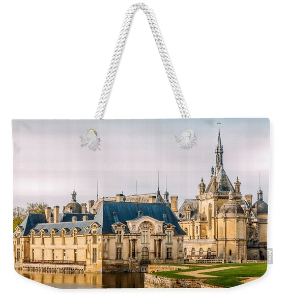Chateau De Chantilly Weekender Tote Bag