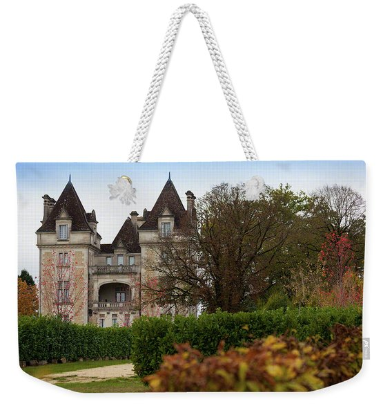 Chateau, Near Beynac, France Weekender Tote Bag