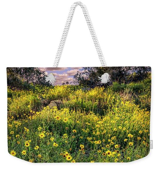 Chatsworth Wildflower Bloom Weekender Tote Bag