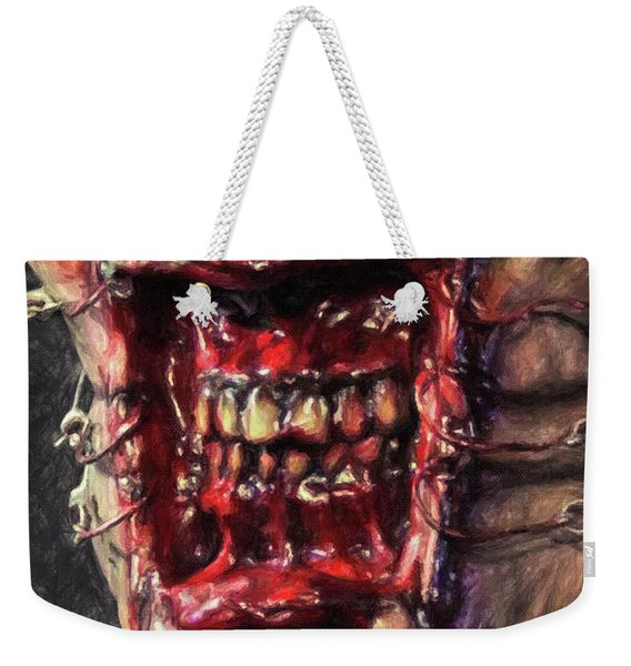 Chatterer Weekender Tote Bag