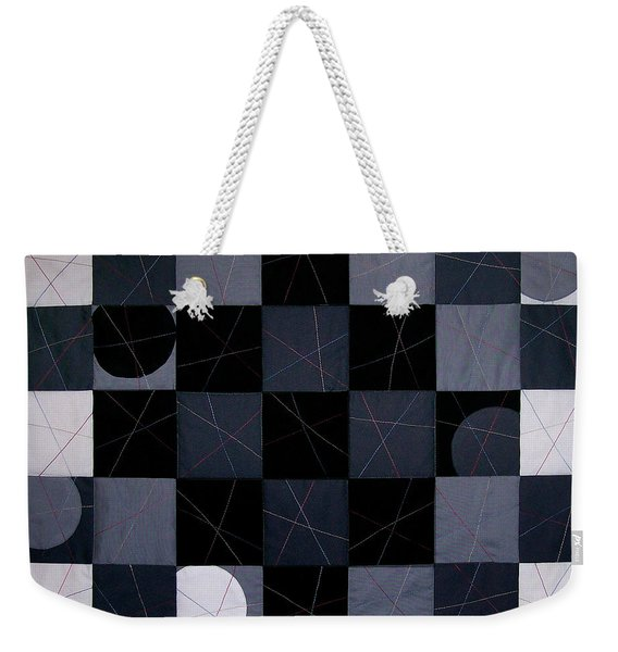 Checkers And Pick-up-sticks Weekender Tote Bag