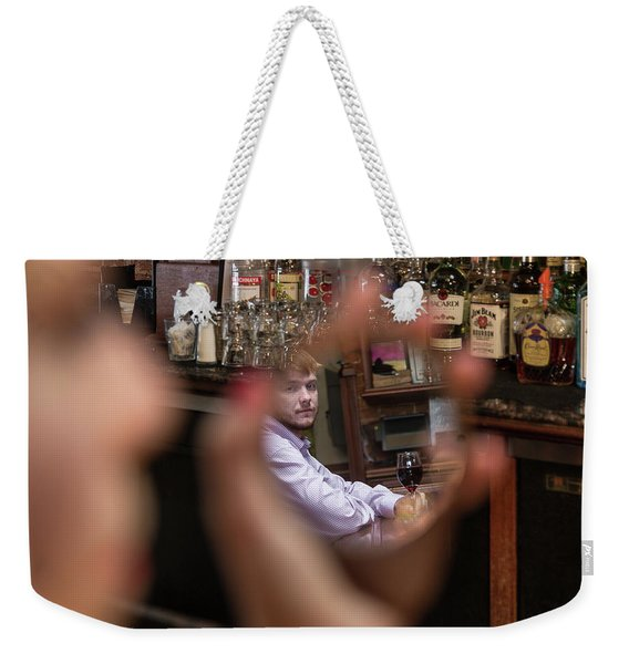 Checking Each Other Out Weekender Tote Bag