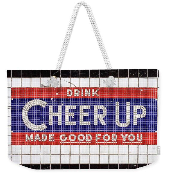 Cheer Up Weekender Tote Bag