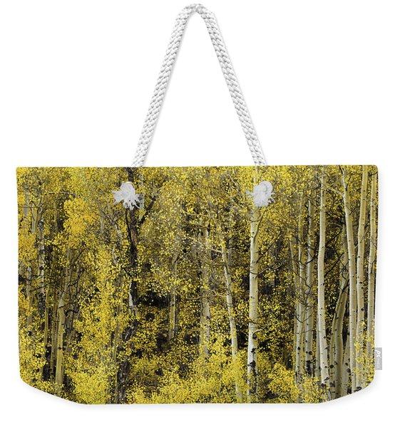 Cheerful Yellow Weekender Tote Bag