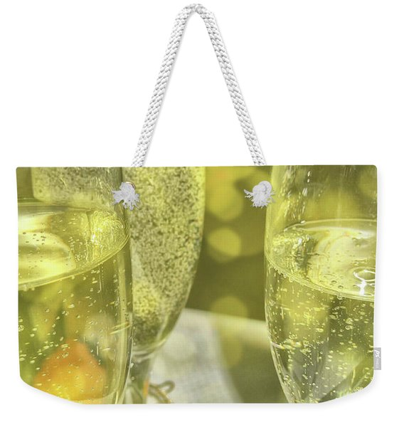 Weekender Tote Bag featuring the photograph Cheers by JAMART Photography