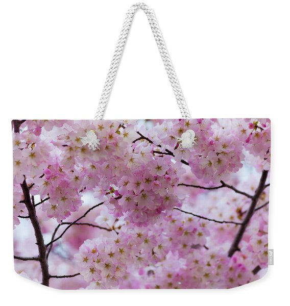 Cherry Blossoms 8625 Weekender Tote Bag