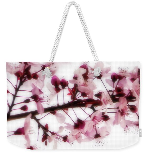 Cherry Triptych Center Panel Weekender Tote Bag