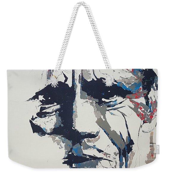 Chet Baker - Abstract  Weekender Tote Bag