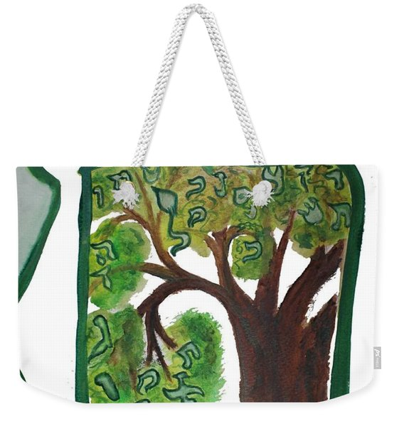 Chet, Tree Of Life  Ab21 Weekender Tote Bag