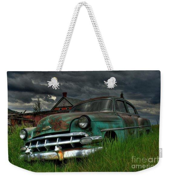 Chevy  Bel Air Weekender Tote Bag