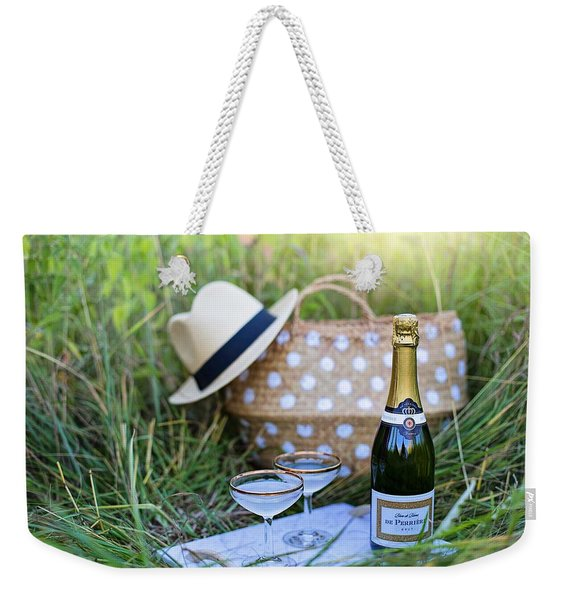 Chic Picnic Weekender Tote Bag