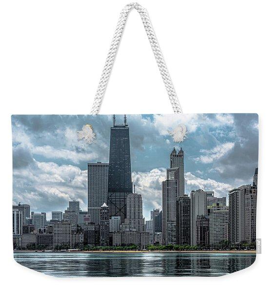 Chicago Skyline V4 Dsc_5760 Weekender Tote Bag