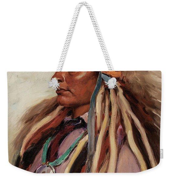 Chief Spotted Elk, 1905 Weekender Tote Bag