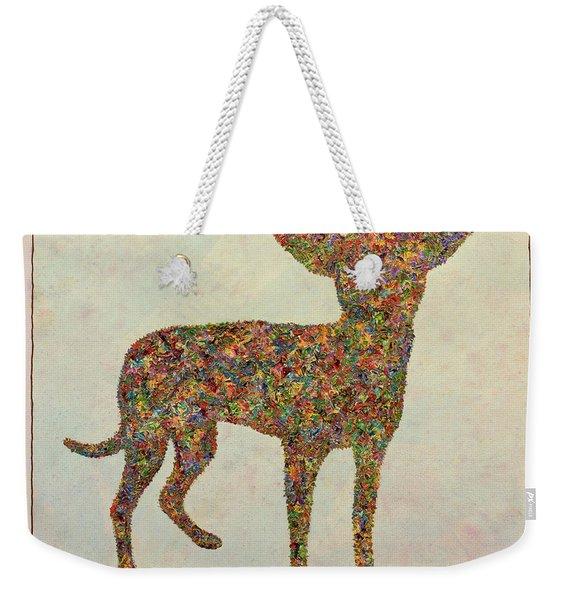 Chihuahua-shape Weekender Tote Bag