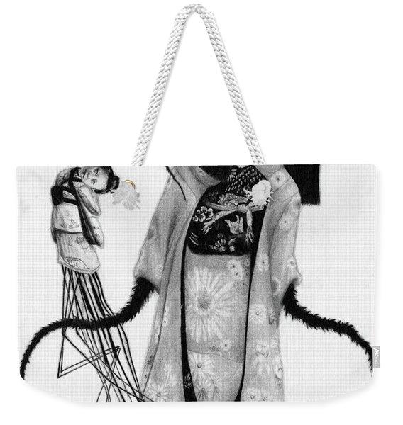 Chikako The Doll Girl Of Kanagawa - Artwork Weekender Tote Bag