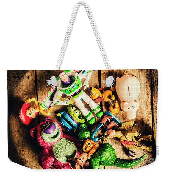 Childhood Collectibles Weekender Tote Bag