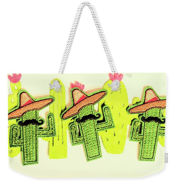 Chili Con Cacti Weekender Tote Bag