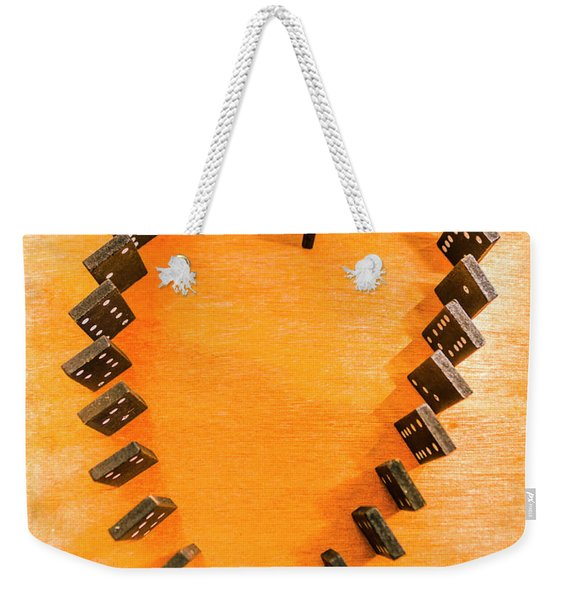 Chips Are Stacked Weekender Tote Bag