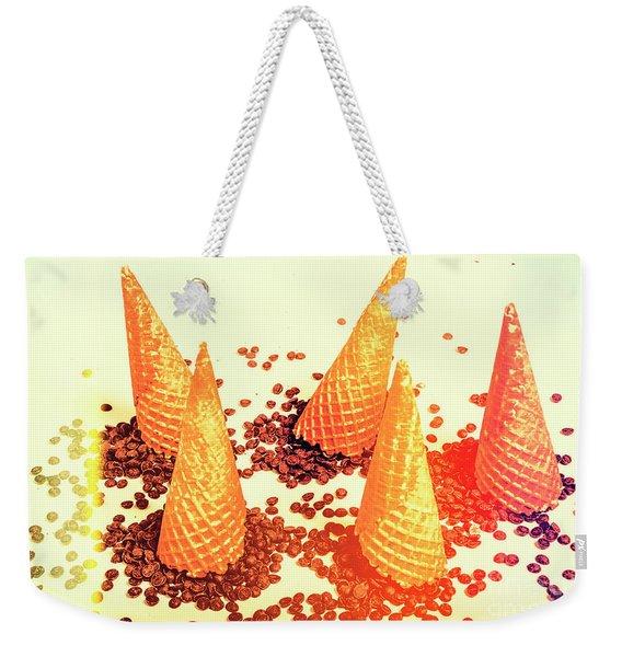 Choc Chip Silos Weekender Tote Bag