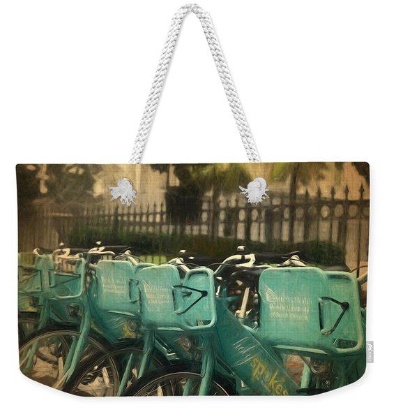 Choose Your Ride Weekender Tote Bag