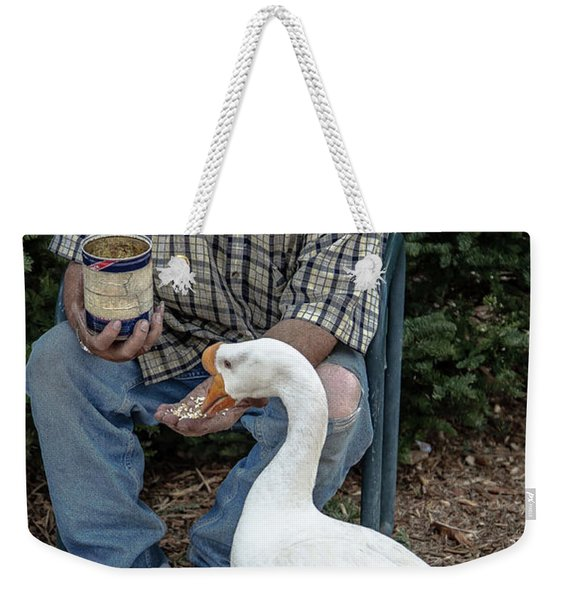 Chow Time Weekender Tote Bag