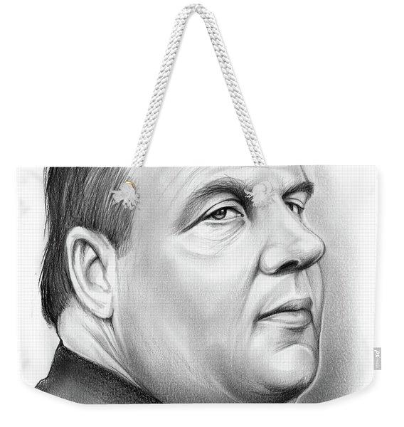 Chris Christie Weekender Tote Bag