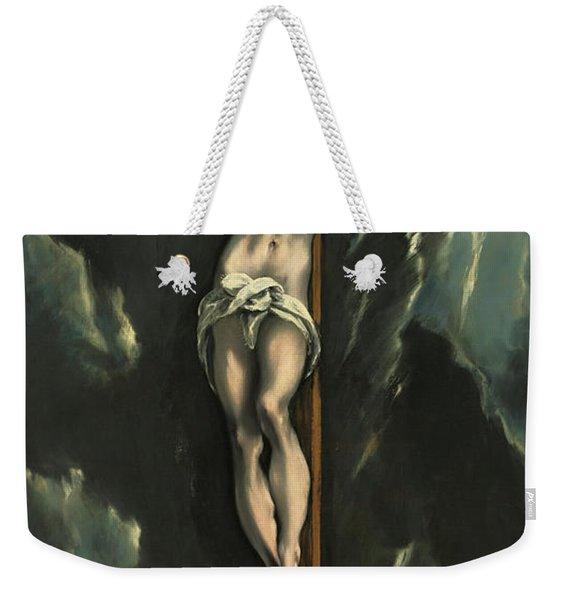 Christ On The Cross, 1610 Weekender Tote Bag