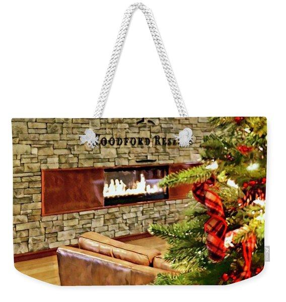 Christmas At Woodford Reserve Weekender Tote Bag