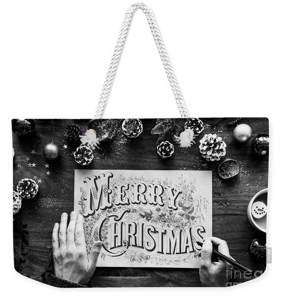 Christmas 1 Weekender Tote Bag