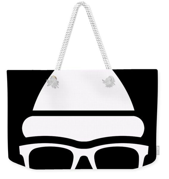 Weekender Tote Bag featuring the digital art Christmas Bear by Flippin Sweet Gear