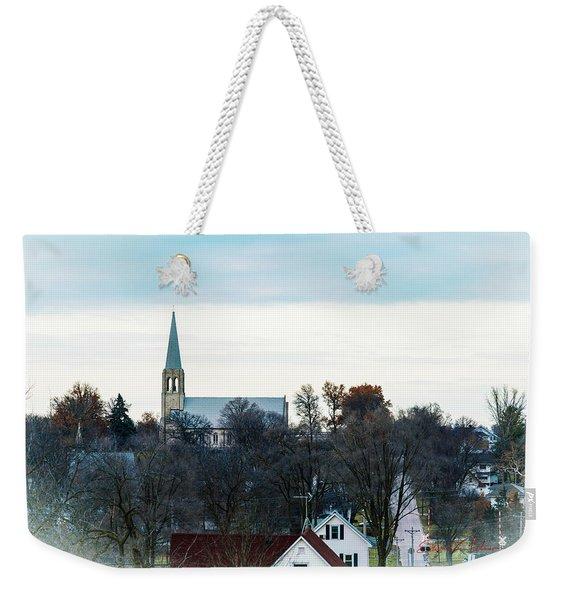 Christmas Day Drive Weekender Tote Bag