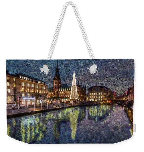 Christmas Hamburg Weekender Tote Bag