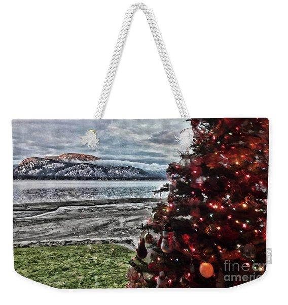 Christmas View Weekender Tote Bag
