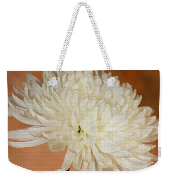 Chrysanthemum On Canvas Weekender Tote Bag