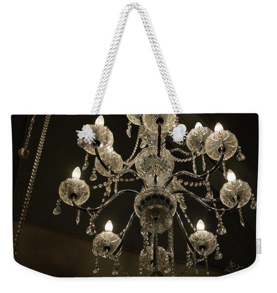 Chrystal Lights Weekender Tote Bag