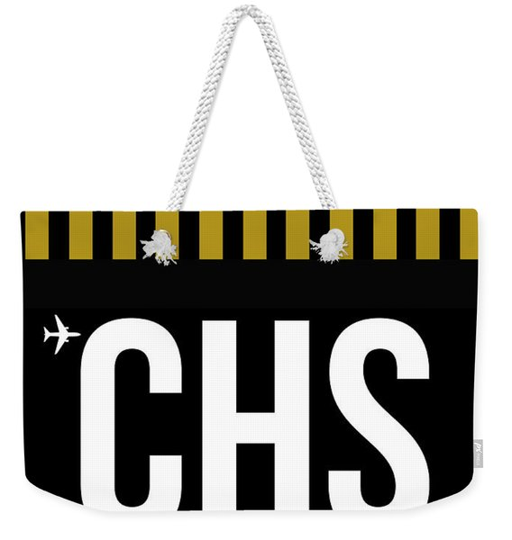 Chs Charleston Luggage Tag I Weekender Tote Bag