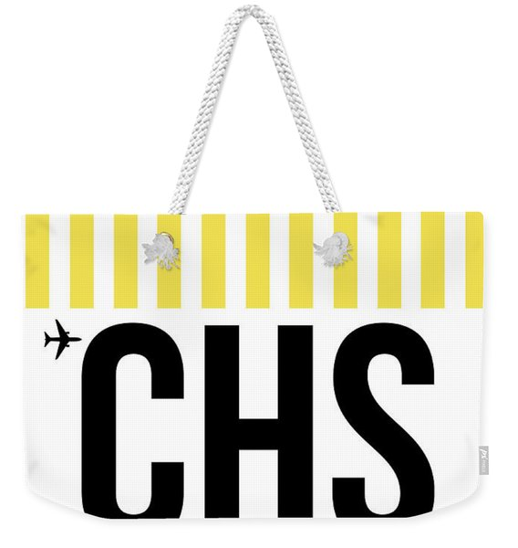 Chs Charleston Luggage Tag II Weekender Tote Bag