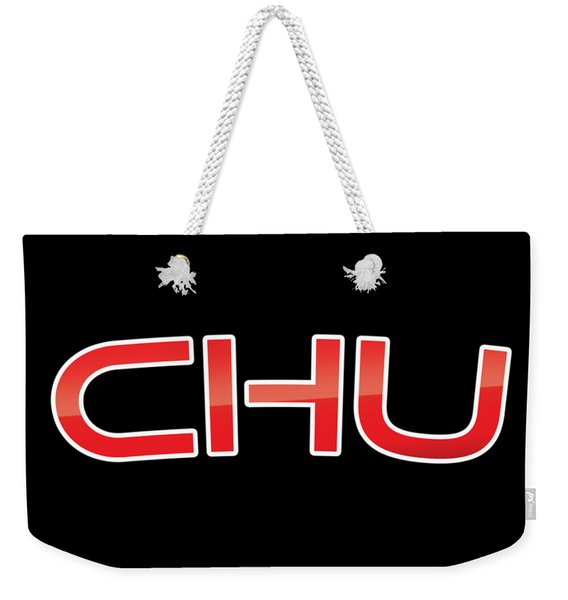 Chu Weekender Tote Bag