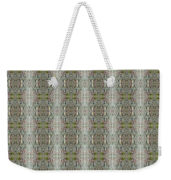 Weekender Tote Bag featuring the mixed media Chuarts Design 013019b by Clark Ulysse