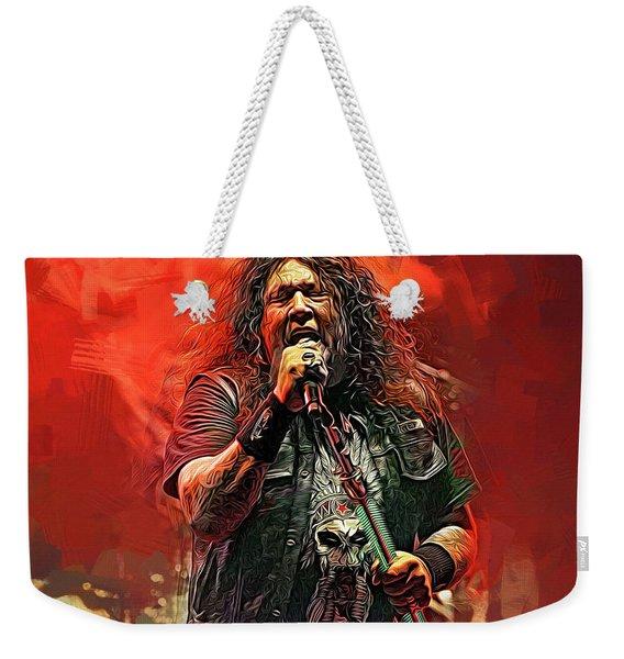 Chuck Billy, Testament Weekender Tote Bag