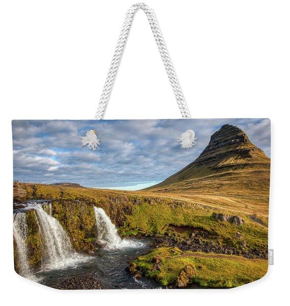 Church Mountain Weekender Tote Bag