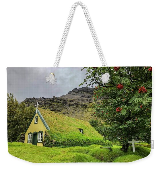 Church Of The Holy Moss Weekender Tote Bag