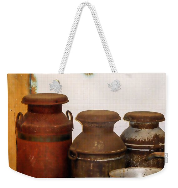 Churns For Milk  2 Weekender Tote Bag