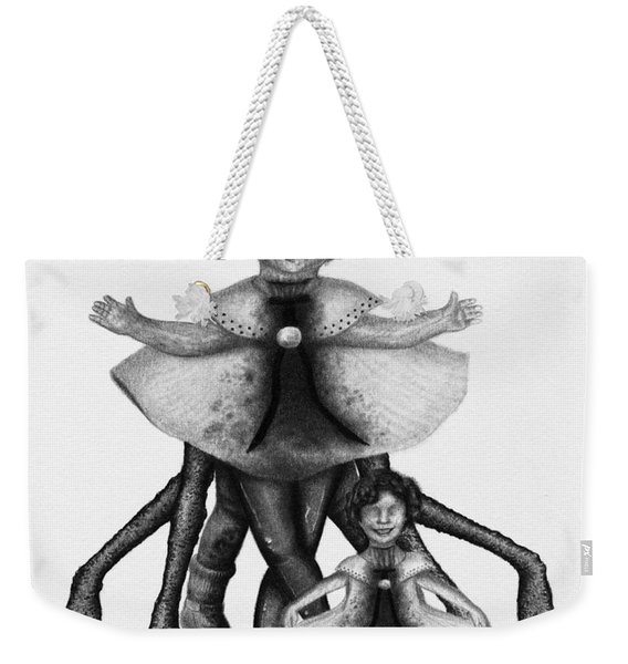 Cindy And Her Monstrous Doll - Artwork Weekender Tote Bag